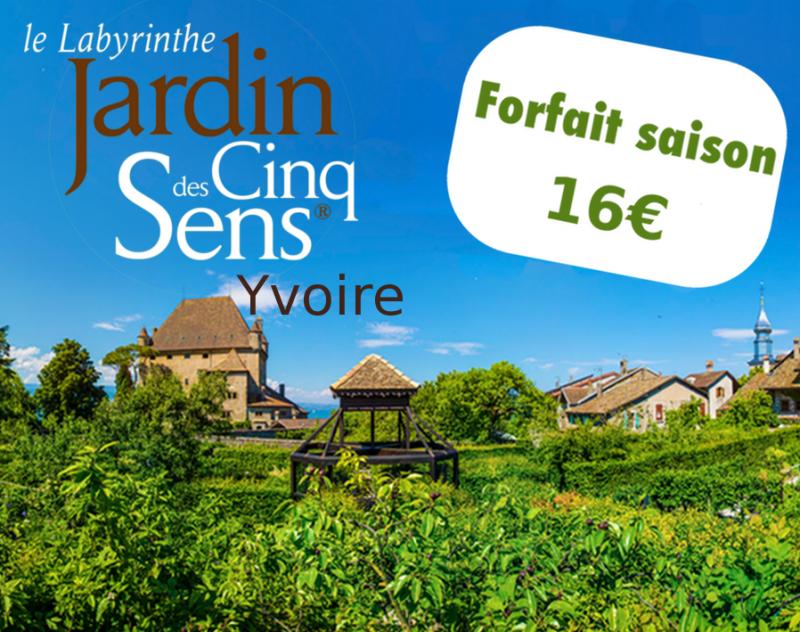 Garden 5 Senses - Yvoire : season package