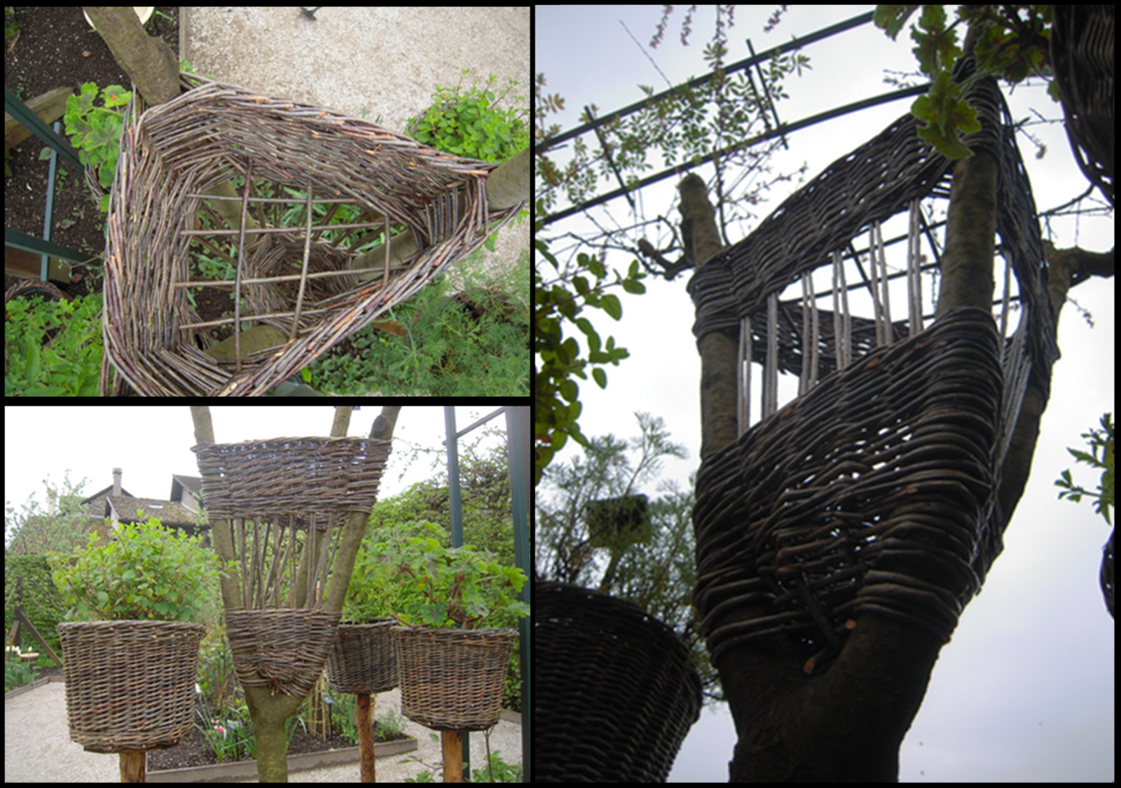 La vannerie investit le jardin le jardin des cinq sens for Jardin des sens saigon