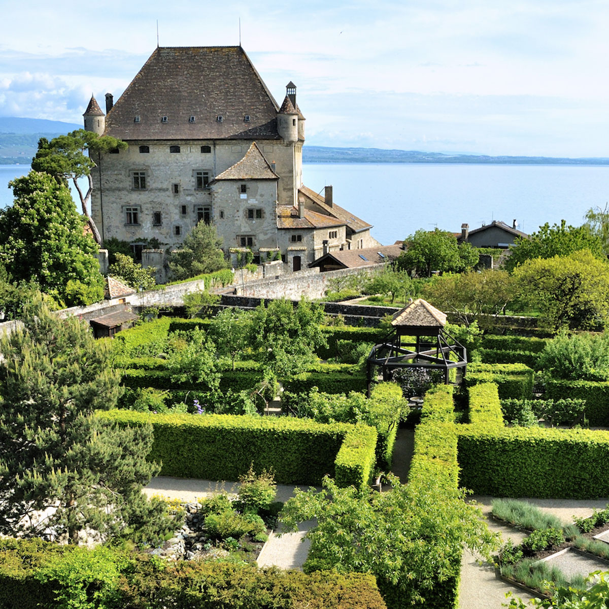 Le jardin des cinq sens yvoire jardin remarquable for Le jardin des sens
