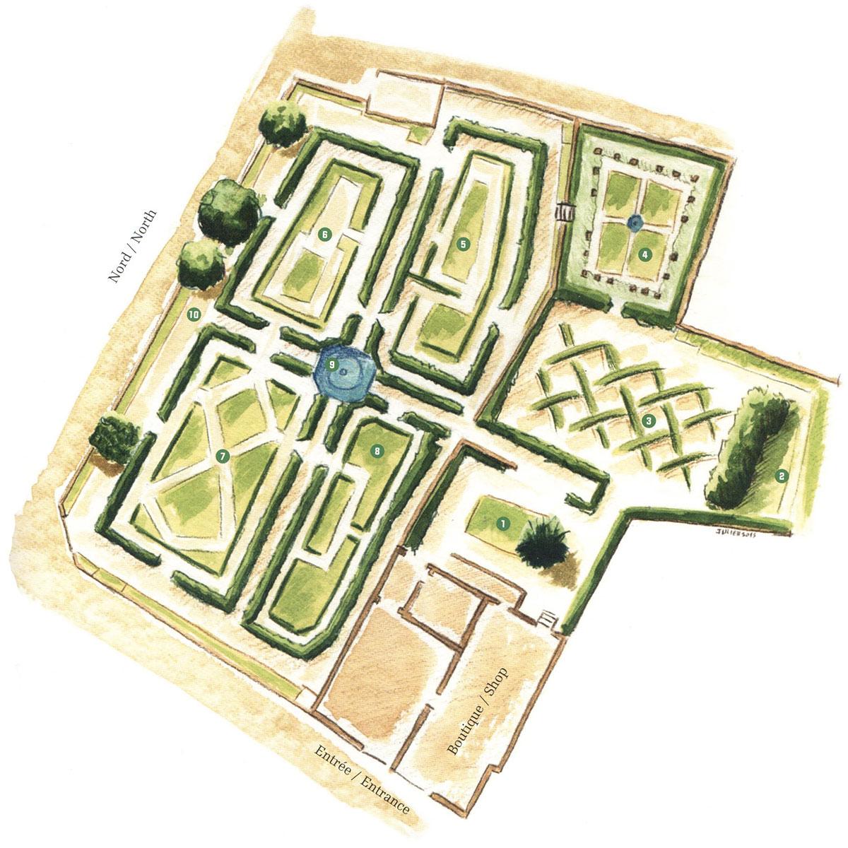 Emejing Le Labyrinthe Jardin Des Cinq Sens Ideas