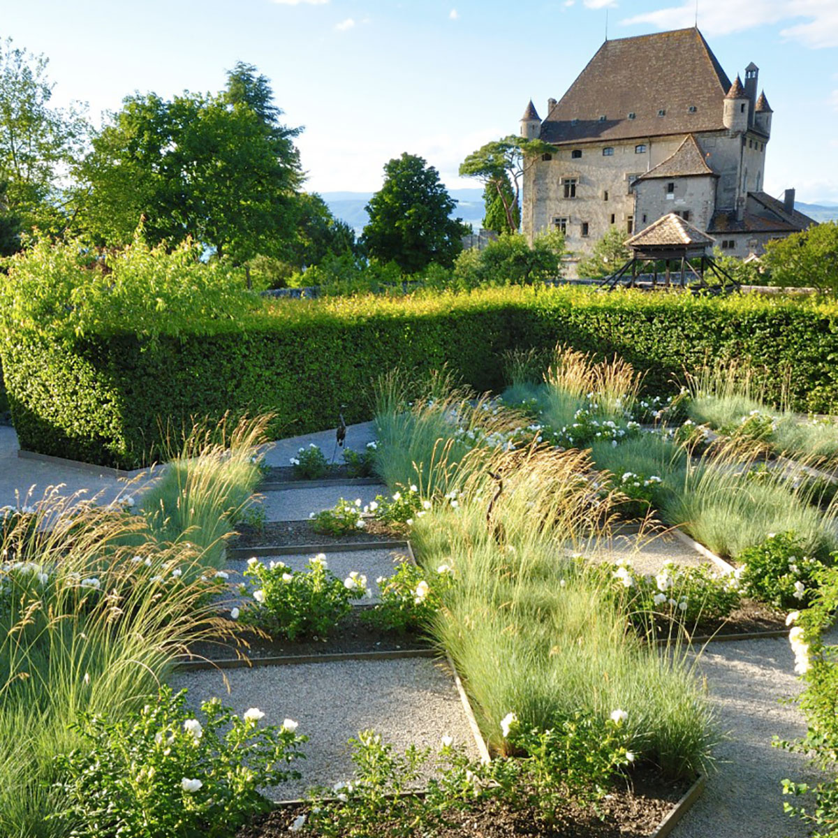 The Garden of Five Senses – Yvoire – France - Remarkable Garden