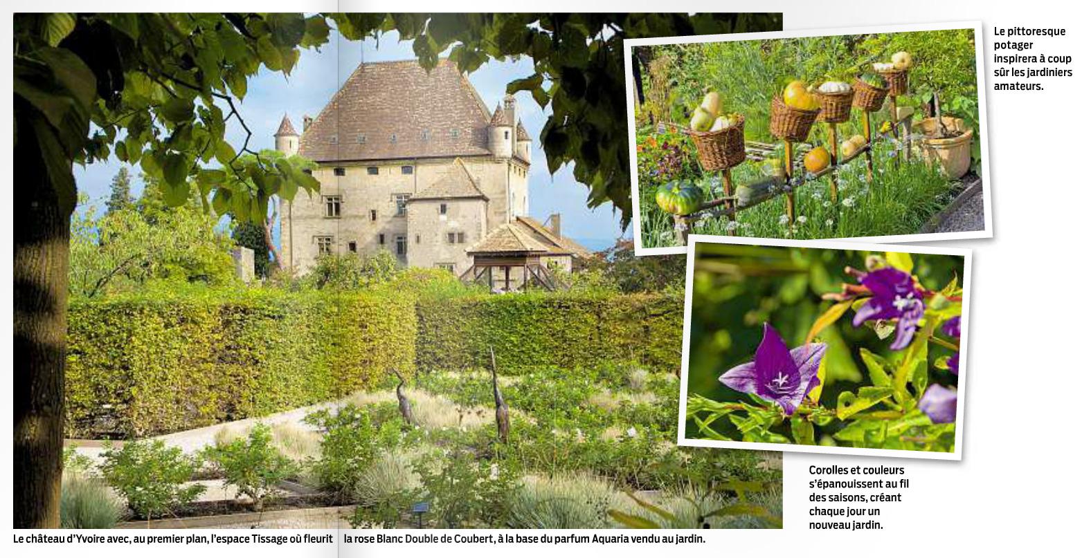 Article sur le Jardin dans le magazine Migros d'avril 2012.