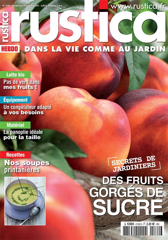 Couverture du magazine Rustica du 18 mai 2011.