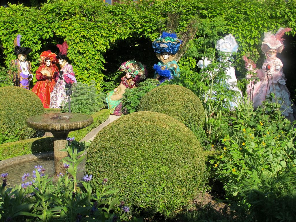 Le blog du jardin yvoire le jardin des cinq sens for Jardin yvoire